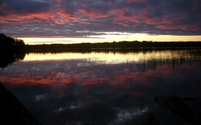 Picture Nature, Sky, Sweden, Lake, Umea