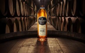 Picture deer, barrels, Whiskey, Scotland, single malt, single malt, glenfiddich