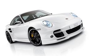 Wallpaper Porsche, Porsche, Car, White