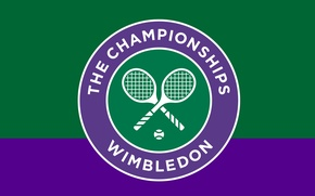 Picture wallpaper, sport, logo, tennis, The Championships, Wimbledon