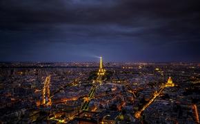 Picture light, Paris, Eiffel tower