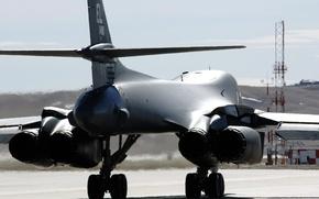 Wallpaper Rockwell B-1 Lancer, strategic, USA, bomber, supersonic