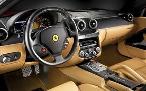 Wallpaper Ferrari, salon, GTB, Ferrari 599