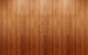 Picture background, apple, Apple, minimalism, texture, logo, flooring