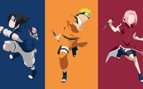 Wallpaper sugoi, yuusha, by joosherino, ninja, Uzumaki Naruto, Ashura, hitaiate, nukenin, Haruno Sakura, hokage, anime, game, ...