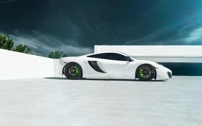 Picture McLaren, white, supercar, 12C MP4