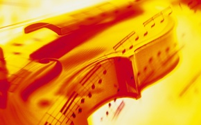 Wallpaper music, abstraction, violin, sounds