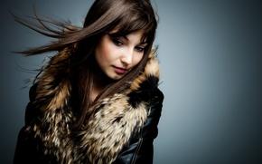 Wallpaper fur, background, Girl, hair