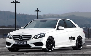 Wallpaper Mercedes-Benz, Mercedes, E-Class, VATH, V50, 2015, W212