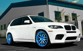Picture tuning, BMW, white
