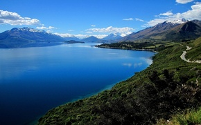 Picture nature, water, lake