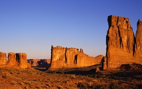 Wallpaper rocks, rock, the sky, desert, landscape, sand