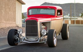 Picture retro, Ford, classic, the front, 1932, hot-rod, classic car