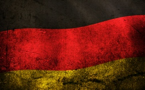 Picture color, flag, Germany