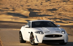 Picture Jaguar, white, Coupe, XKR-S