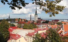 Picture roof, Estonia, Tallinn