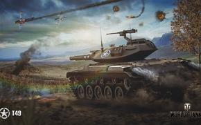 Picture USA, WoT, World of Tanks, T49