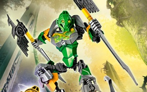 Picture lego, LEGO, Bionicle, bionicle, master of jungle, lewa, 70784, Liva, Lord of the jungle