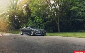 Picture Audi, grey, vossen