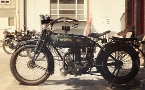 Picture bike, motorcycle, classic, old timer