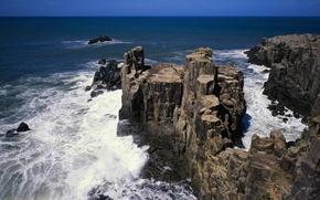 Picture sea, landscape, the ocean, rocks