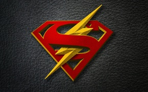 Picture crossover, comics, serial, Supergirl, the Flash