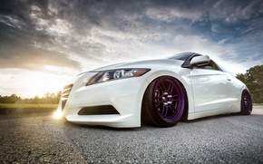 Picture car, tuning, stance, honda cr-z