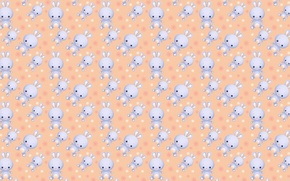 Picture background, texture, art, Bunny, Bunny, children's