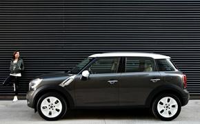 Picture Girl, BMW, Mini Cooper, Hatchback, MINI, Mini Cooper, Paceman
