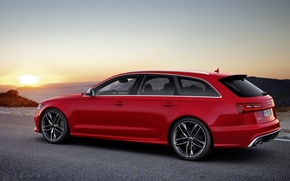 Picture Audi, Audi, universal, Wagon, V-8, RS 6 Avant