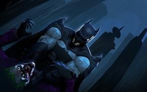 Picture batman, the dark knight, joker, dc comics, Bruce Wayne