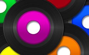 Picture color, vinyl, records