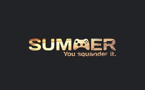 Picture summer, summer, you, it, missed, squander