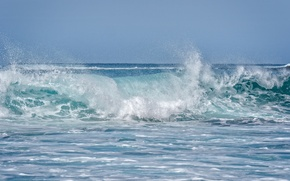 Wallpaper the ocean, wave, Hawaii, Hawaii, Maui, Maui, Andalso E Bay