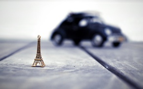 Picture background, Wallpaper, mood, Eiffel tower, blur, wallpaper, figurine, widescreen, background, bokeh, full screen, HD wallpapers, …
