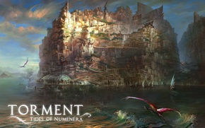 Picture art, RPG, Torment: Tides of Numenera