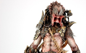 Picture armor, weapon, predator, body, head, ugly