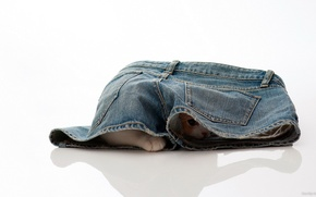 Picture jeans, hide and seek, kitty