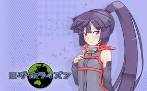 Picture Girl, cutie, anime, art, ponytail, Akatsuki, log horizon