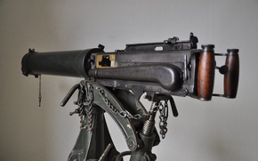 """Picture weapons, background, side view, machine gun, easel, Vickers, """"Vikkers"""""""
