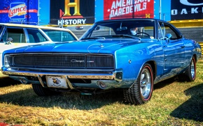 Picture Machine, Dodge, Charger, 1968, Muscle Car