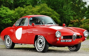 Picture Alfa, Corsa, Romeo, Speciale, Sprint, Giulia, Alfa Red, Old Car, Alfa Rosso, Oldie, Alfa Romeo ...