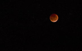Picture night, the moon, landscapes, star, stars, a month, sky full moon, lunar Eclipse