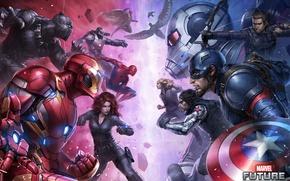 Picture Art, The film, Iron Man, Captain America, Spider Man, Ant-Man, Captain America: Civil War, The …