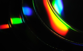 Picture color, rainbow, disk, disc, Compact