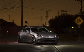 Picture Hyundai, Night, Genesis. Tuning