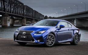 Picture blue, Lexus, Lexus, RC F