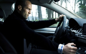 Picture auto, the wheel, actor, salon, Jason, Statham