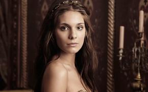 Picture promo, Reign, Kingdom, Caitlin Stasey