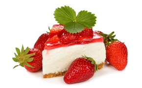 Picture berries, strawberry, cake, cake, cake, dessert, cakes, sweet, sweet, strawberry, dessert, berries